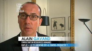 Alain gavand canal plus cv anonyme