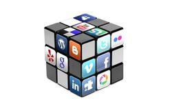Social-media cube