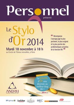 Stylo d'Or
